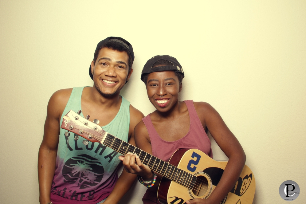 Dammeon Casales (Left), Musician (Right)